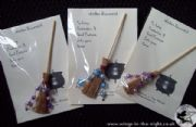 Miniature Witches Decorated Broomstick | Pagan & Wicca UK Shop